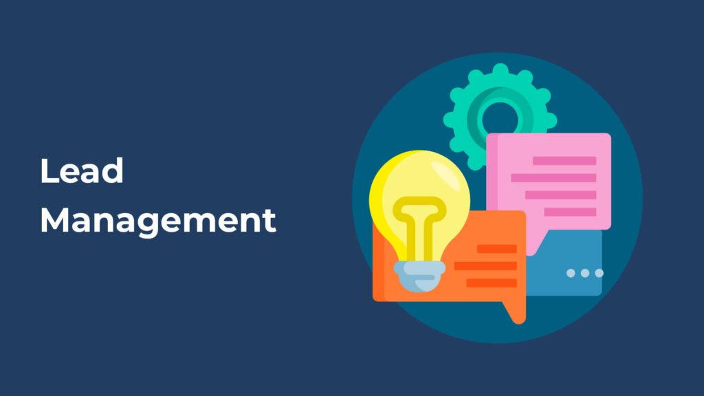 lead management header