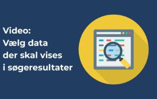 vælg data der skal vises i søgeresultater
