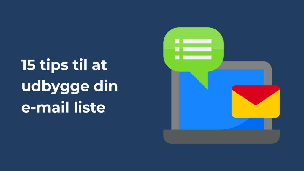 15 tips email liste header