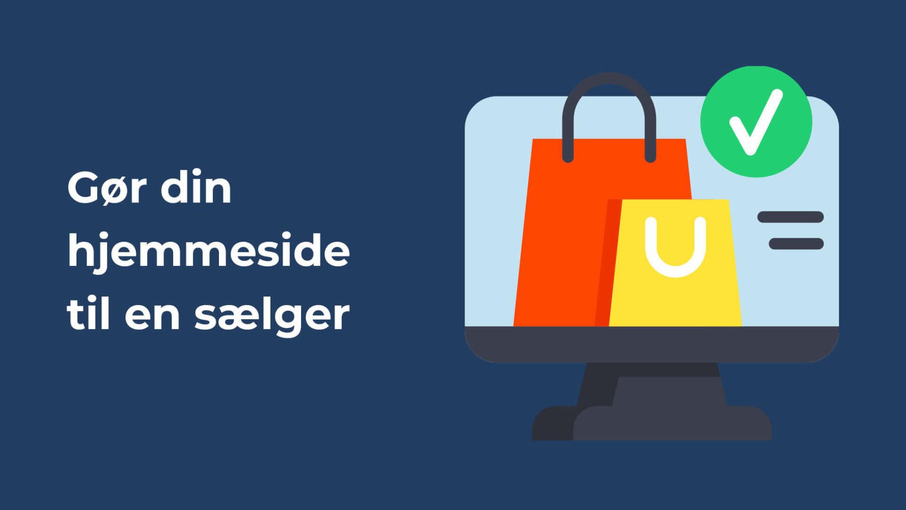 Gør din hjemmeside til en sælger header