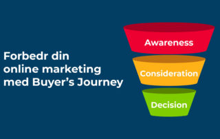 Forbedr din online marketing med Buyer's Journey