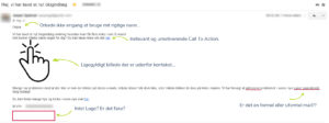 Dårlig mail eksempel