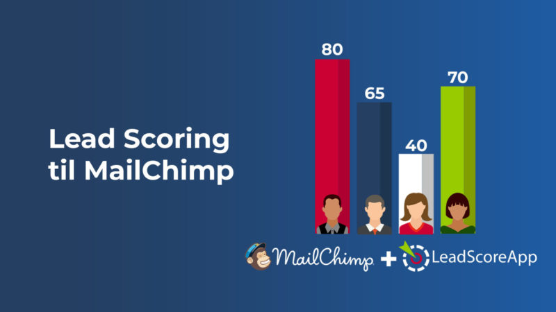 Lead scoring til MailChimp