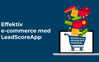 Effektiv e-commerce med LeadScoreApp